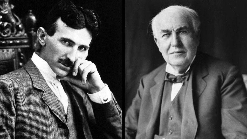 Тесла и Эдисон