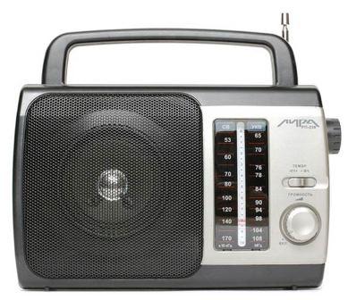 Фото аналогового настольного радио Лира РП-236