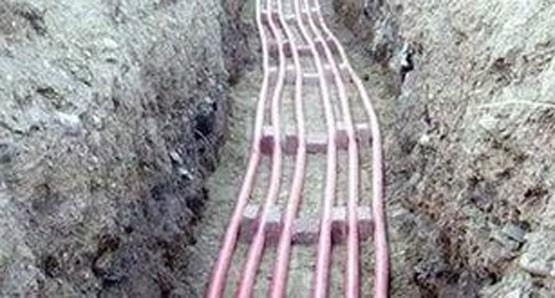 кабельные линии в земляных траншеях