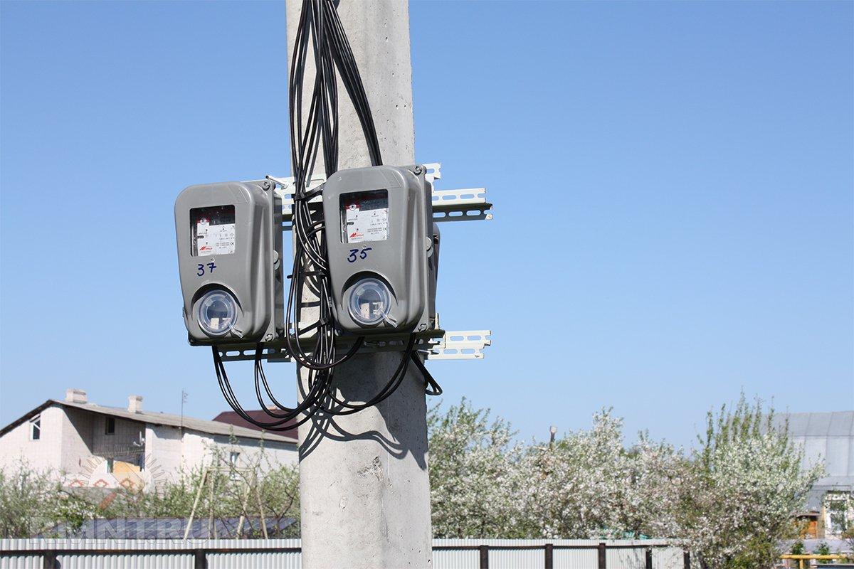 Уличные электросчетчики