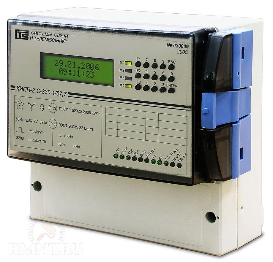 Многофункциональный счётчик электроэнергии с коммуникационными интерфейсами: Ethernet, RS-232 и RS-485