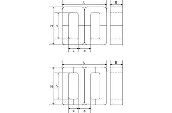 магнитопроводы броневые кольцевые ленточные