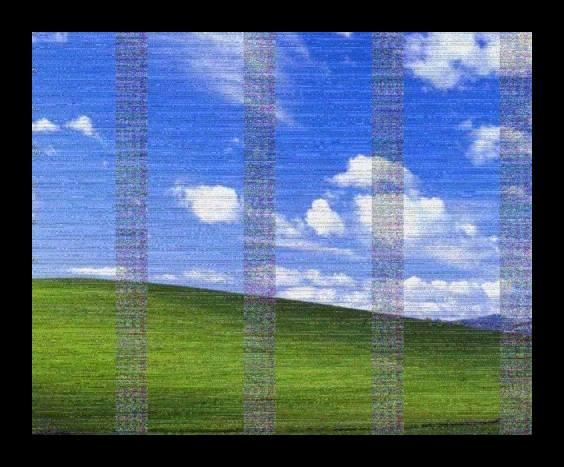 Артефакты на экране