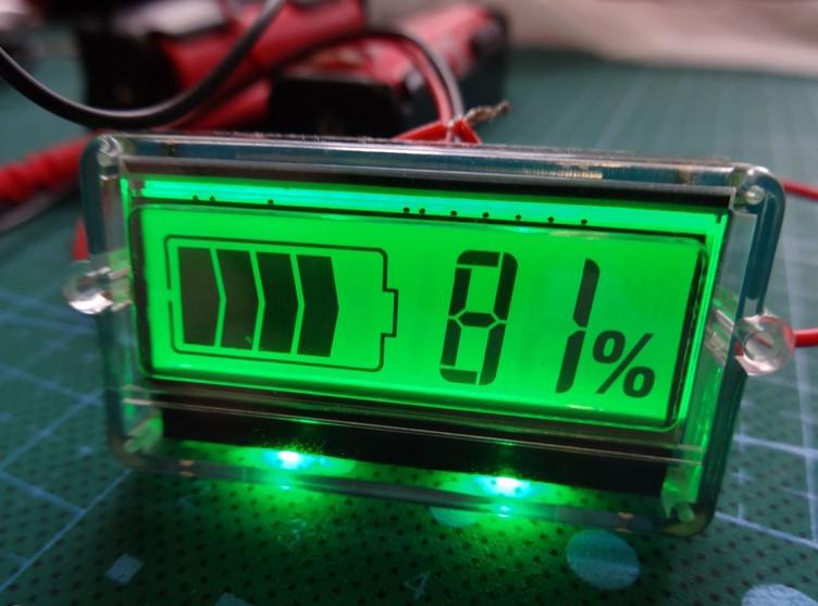 встроенный индикатор и его экран