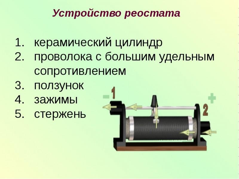 Функциональнось реостата: обозначение на схеме, где нужны реостаты