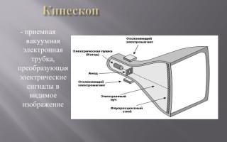 Что такое кинескоп и как он устроен