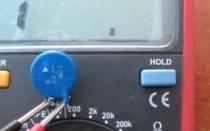 Как проверить варистор с помощью мультиметра?