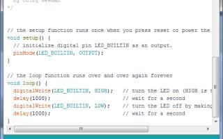 Arduino IDE скачать, установить, настроить и пользоваться