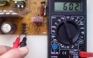 Как проверить диодный мост мультиметром?