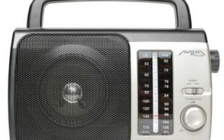 Лучшие радиоприемники 2021 года: критерии выбора и рейтинг