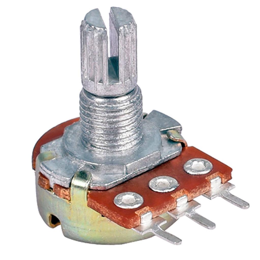 Переменный резистор.