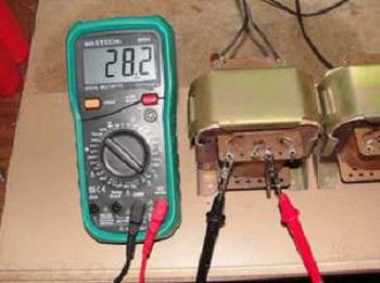 Проверка импульсного трансформатора