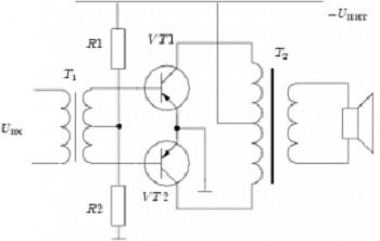 Разделительный трансформатор схема