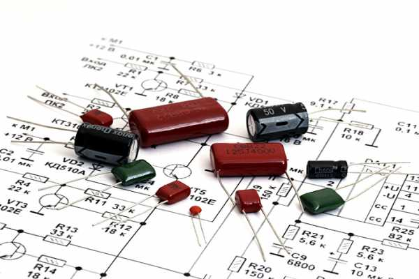 Различные конденсаторы