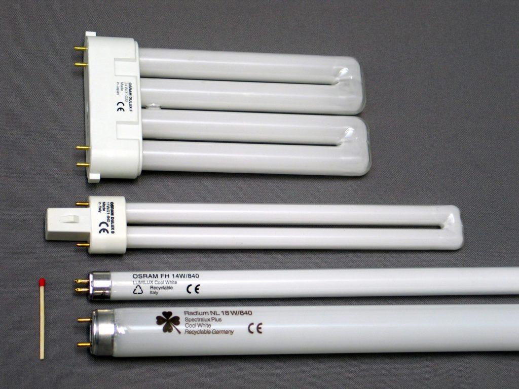 Различные лампы
