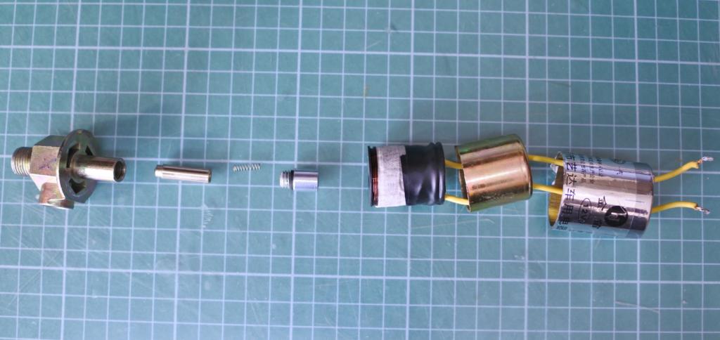 Устройство электромагнитного клапана.