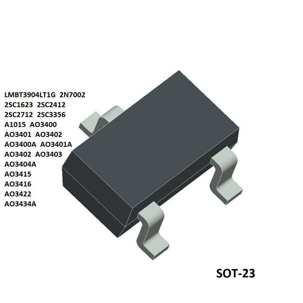 Самая распространенная модель транзистора.