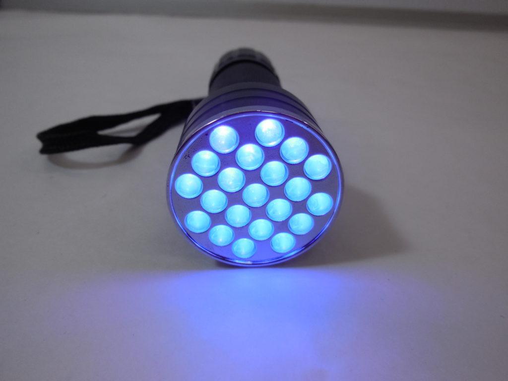 Ультрафиолетовый светильник.