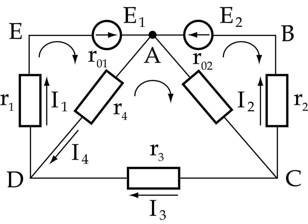 Сложная электрическая цепь