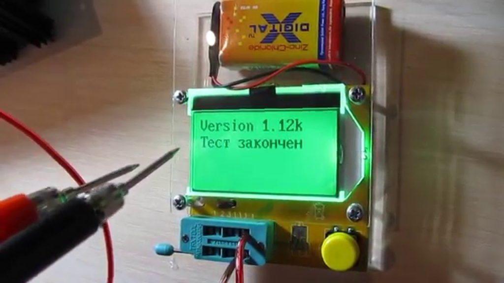 Проверка работоспособности транзистора.