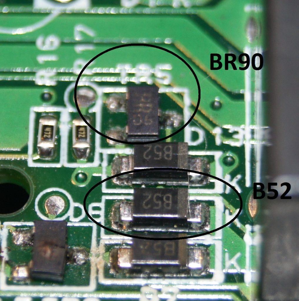 SMD транзистор на схеме