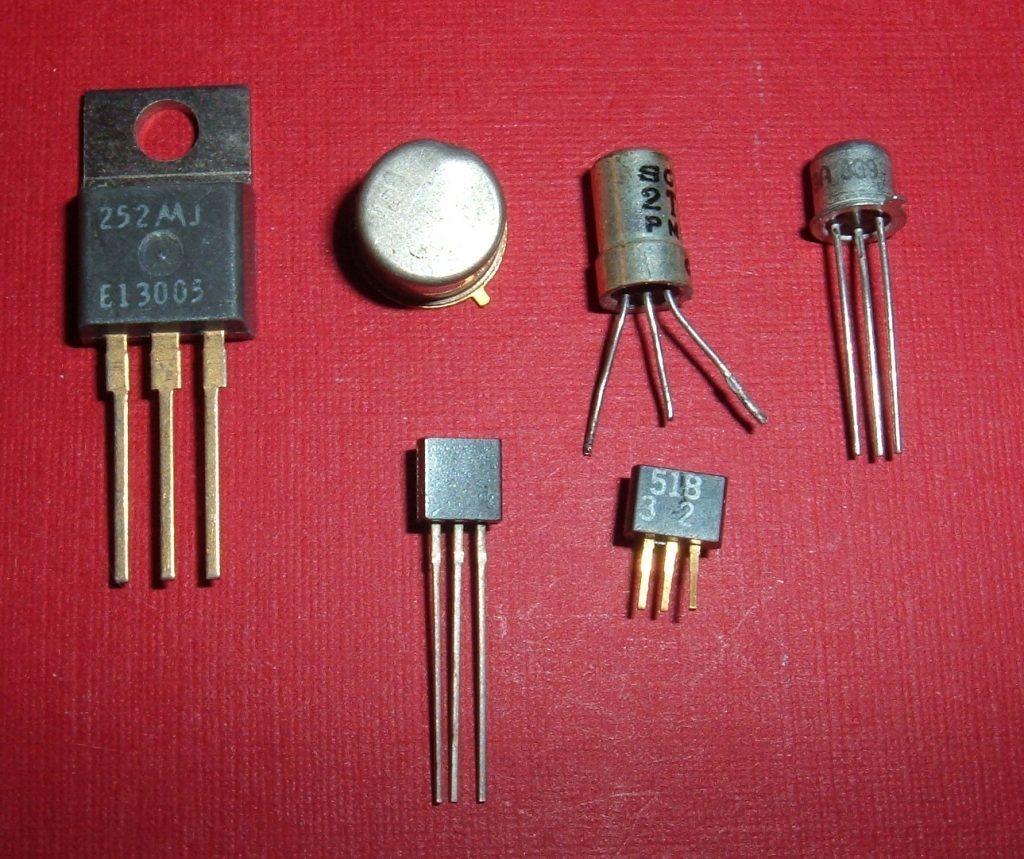 Различные типы транзисторов.