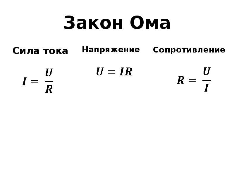"""Все о законе Ома: простыми словами с примерами для """"чайников"""""""