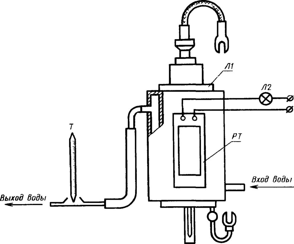Схема устройства игнитрона