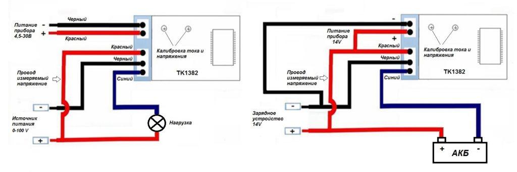 Амперметр в цепи постоянного тока