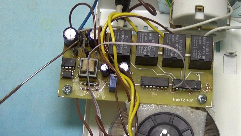 Схема устройства стабилизатора напряжения
