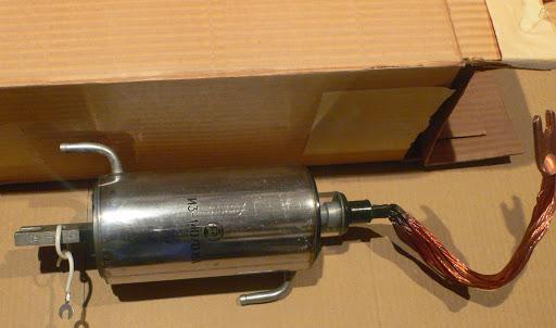 Игнитрон с металлическим корпусом