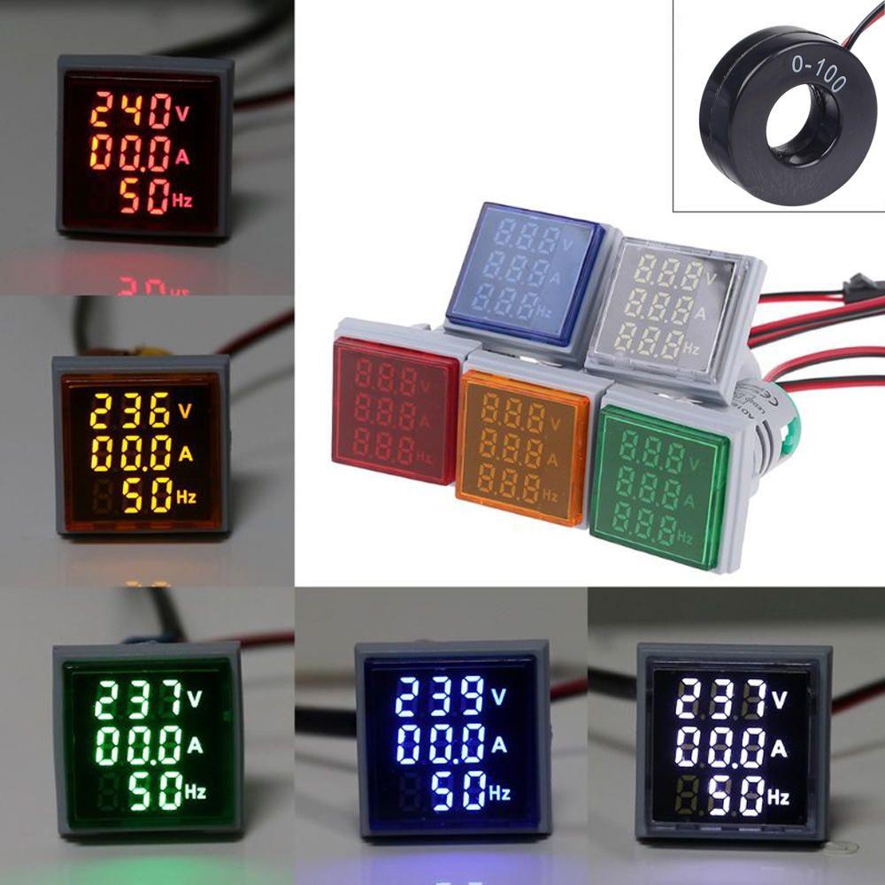 Цифровые амперметры разных моделейЦифровые амперметры разных моделей