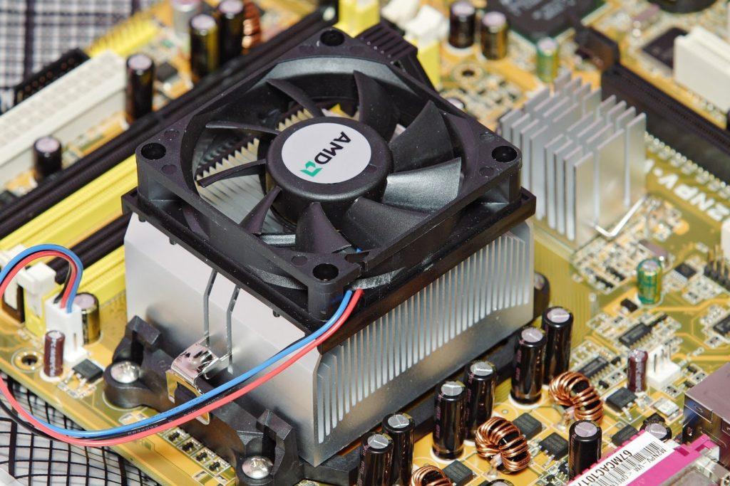 Подключение процессора ПК.