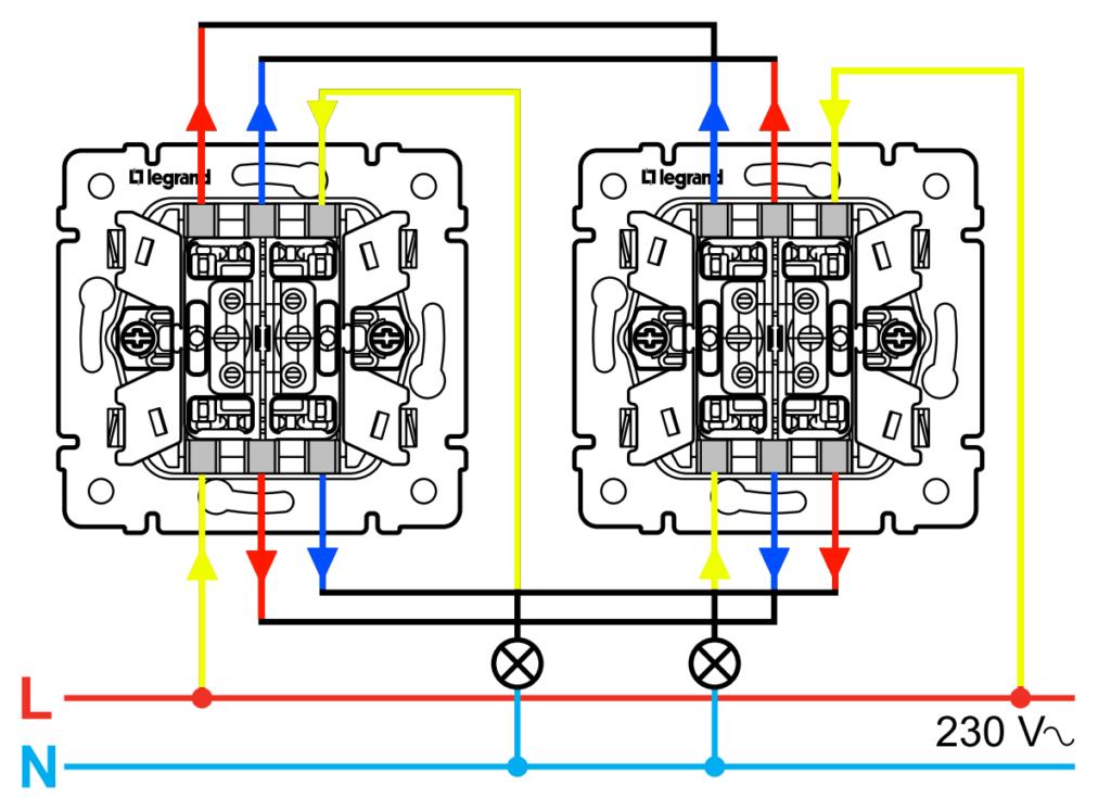 Преимущества установки проходного выключателя.