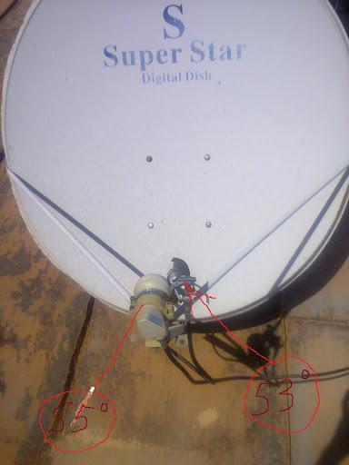 Переделанная спутниковая антенна 4G.