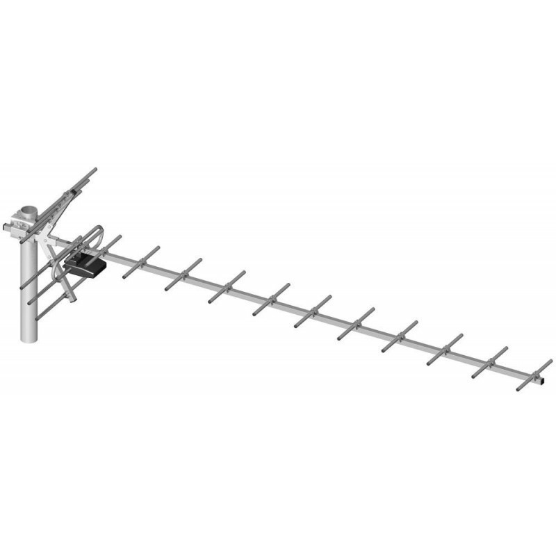Изготовление дециметровой антенны.