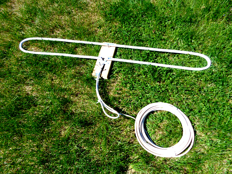 Петлевая антенна из трубы.
