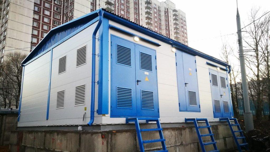 Подстанция для жилого сектора.