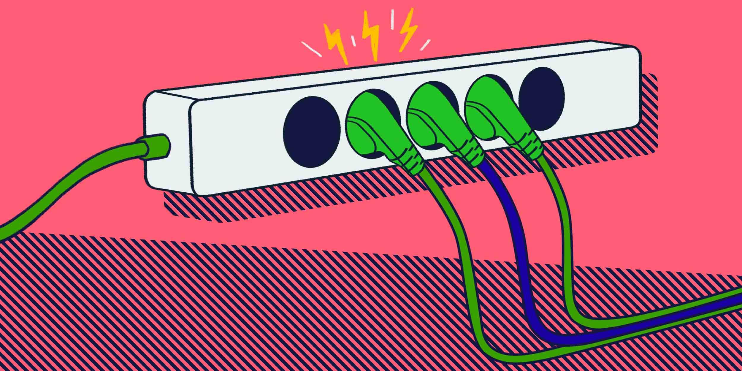 Опасность бытовых электроприборов.