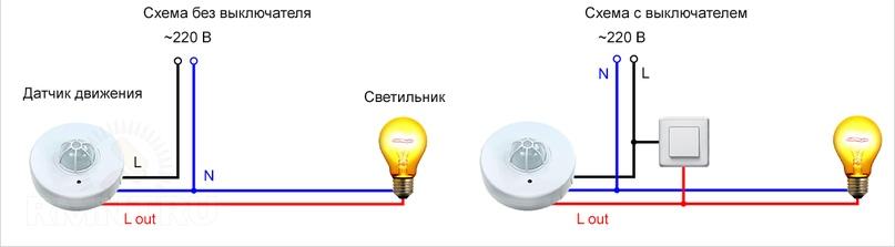 Контактный датчик движения.