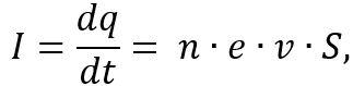 величину силы токаIможно представить в виде зависимости