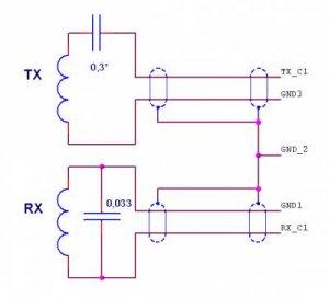 Схема катушки металлоискателя квазар